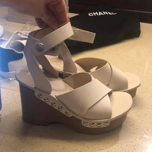 04d58ddad25 rag   bone Shoes - Rag   Bone Hester Leather Wedge Sandals
